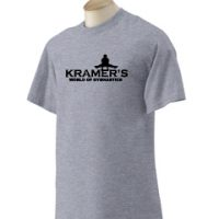 Kramers World of Gymnastics Spirit Shirt - Boys Logo